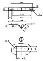 Скоба КМ-3 (3.407.1-143.8.56) 0,6 кг